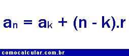 formula da PA