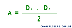 fórmula do losango