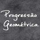 PG Progressão Geométrica logo