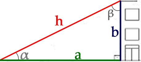Exemplos triângulo retângulo